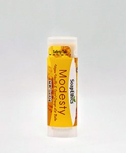 Modesty Vanilla and Sweet Orange Lip Balm