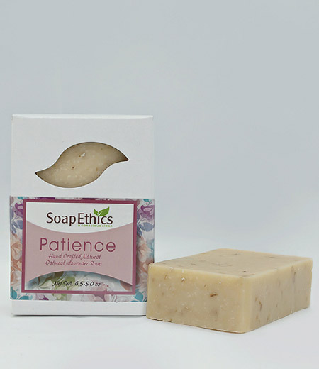 Patience Oatmeal Lavender Soap