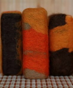Felted-Soaps--Earthy
